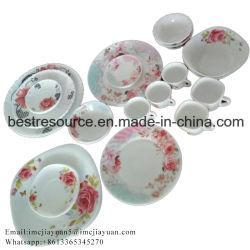 A Opal Copos /20PCS Quadrada / Conjunto de jantar de vidro opala