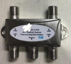 衛星TV (SHJ-DS41)のための4X1 Diseqcスイッチ