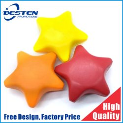 Promotion publicitaire Star anti stress PU Ball