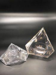 Caixa de embalagens PET plástico diamante Caixa triângulo
