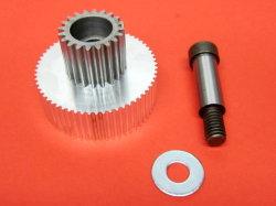 Usinagem CNC PRO veio de acionamento do rolete para a engrenagem cilíndrica