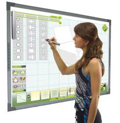 Pizarra Interactiva portátil inteligente multitáctil de oficina y para la enseñanza con lápiz IR 2