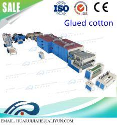 A linha de produção de Não Tecidos Waddings rígida e Glue-Free Waddings / Nonwoven linha de produção de algodão Cola Spray/ Folha de cola termofusível laminado de tecidos