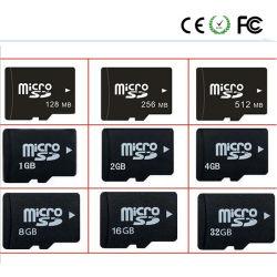メモリ・カードのための256MB-512MB-1GB-2GB-4GB-8GB-16GB-32GB-64GBの完全な、実質容量TFのカード