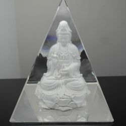 Хрустальное стекло пирамиды плотность бумаги для украшения