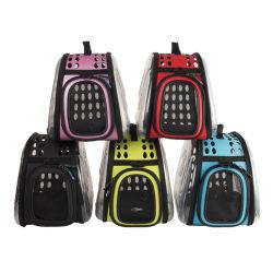 Qualidade de venda quente Transportadora Pet mochila respirável para cães