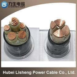 Fil électrique électrique à haute tension 0.6/1kv isolation XLPE Armored Câble d'alimentation