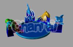 新機能! 熱膨張性水公園の水ゲームのおもちゃ( CHW008 )