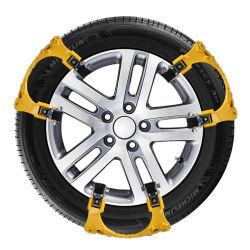 Correntes de neve TPU 3X Carro Universal Prensa 165-265mm inverno pneus para a Segurança na Estrada correntes para pneus de lama de escalada de neve Solo Anti Slip
