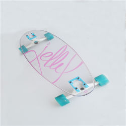 Pour Skateboard Sports en polycarbonate transparent
