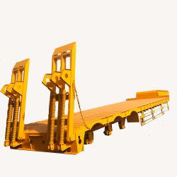 販売のためのChengda 2の車軸3車軸4車軸トラックの道のGoose-Neck Q235B物質的で頑丈なISO Lowboy