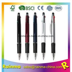 4 cores em uma tela sensível ao toque da bola promocional canetas de feltro
