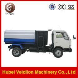 JMC 4*2 5M3 علبة قمامة معلقة شاحنة النفايات