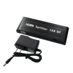 4K 2 K Divisor multiplicador do divisor HDMI 1X4 com cabo comprido