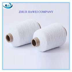 Hilo elástico de color blanco crudo 100# para calcetines