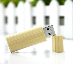 De houten Pen van de Aandrijving van de Flits van het Bamboe USB drijft de Schijf van U van de Stok van het Geheugen van Pendrive van Houten Spaanders 4GB 8GB 16GB 32GB