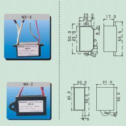 Depuratore di aria del generatore del plasma dell'anione con il purificatore dell'aria