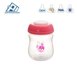 La leche materna bebé Botella de almacenamiento de líquidos de boca ancha con tapa