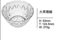 Tazón de vidrio transparente de alta calidad Cristalería Sdy-F00331