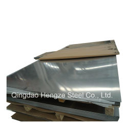 Ss 430 201 202 304L 316L Plaque en acier inoxydable poli