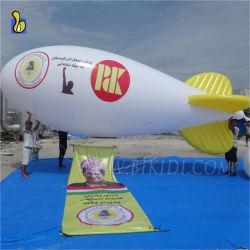 Гигантские надувные гелий Airship круглая насадка для взбивания Blimp рекламы для избрания K7100