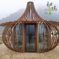 임시 사무실 손전등 직경 400 Cm 유형 건축재료 강철 구조물 모듈 이동할 수 있는 집 조립식 가옥 홈