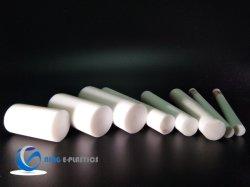 Haste de Corte da chapa Teflo plástico barras de PTFE para fabricação de buchas