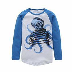 幼児の衣類の赤ん坊の服装の男の子の綿の長い袖のTシャツの子供の衣服