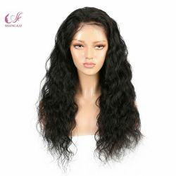 Оптовая торговля Класс 10A российской волос длинных волос шелк верхней части полного кружева прозрачных Wig 100% волос человека