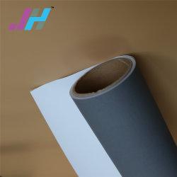 250gsm Gray volta bloqueie os tecidos Eco-Solvent para visualização de impressão têxtil