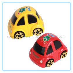 DTY0125 de la promotion des jouets en plastique bon marché en roue libre de la construction pour les enfants de voiture