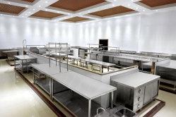 Table de travail en acier inoxydable Table de carte de hachage matériel de cuisine