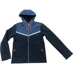 Les hommes hydrofuge manteau d'hiver polaire de plein air respirable désossée veste Softshell le phoque à capuchon