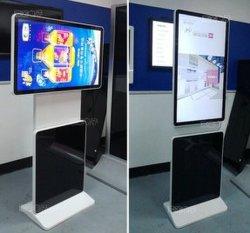 바닥 스탠딩 회전 49인치 Android 광고 디스플레이 및 터치 스크린 사용 가능 LCD 디지털 사진 프레임 버스 광고