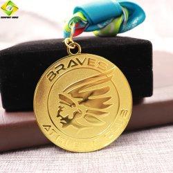 Personalizada personalizada de metal-3D medalhão de eventos desportivos