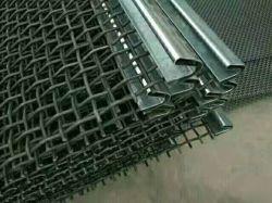 Metais pesados/SS/65 Mn Tecidos de malha de peneira vibratória Fio Crimpado de pedra de vibração /minério de ouro da mina de carvão/ /Mina de cobre