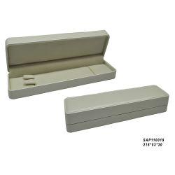 Kundenspezifischer flacher Fertigkeit-Papier-Schmucksache-Satz Brown-Kraftpapier schachtelt kleinen Geschenk-Kasten