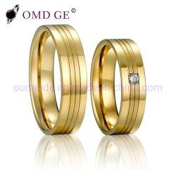 بيع بالجملة أزياء الذهب الذهب الذهب النحاس الرجال النساء المجوهرات