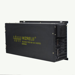 8000W 24V/48В постоянного тока к источнику переменного тока 110 В/220 В/230 В Чистая синусоида солнечной инвертирующий усилитель мощности