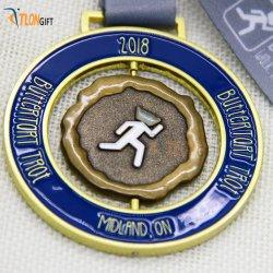 Medaglia alla moda del metallo di sport di alta qualità del mestiere di promozione della concorrenza
