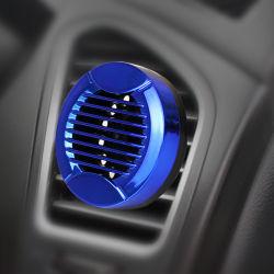 Mini portátil de plástico azul coche pequeño clip de ventilación Perfume