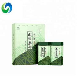 Chinesischer handgemachter künstlerischer Tee, organischer grüner Tee mit kundenspezifischem Geschenk-Paket