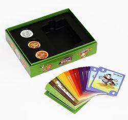 Scheda intellettuale personalizzata gioco da tavolo di vendita calda del gioco del documento di disegno