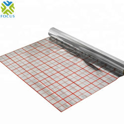 قماش مصقول مطلي بطبقة رقيقة من الألومنيوم مقاوم للحرارة ومصقول بطبقة رقيقة من الألومنيوم