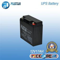 UPSのためのPustun 12V17ah SLA VRLAの深サイクルの長い生命デザイン蓄電池