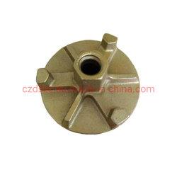 型枠のアクセサリ20/22mmのタイ棒の鋳造のアンカーナット