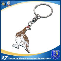 3D metallo pieno su ordinazione Keychain (Ele-K036) del giocatore di baseball