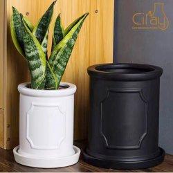 Matt cylindre pour Flower Pot en céramique décoration maison