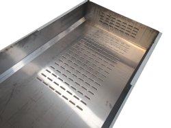 Commerce de gros Metal goulotte en acier inoxydable réservoir cuve en acier inoxydable support métallique d'acier revêtement poudre de feuille de métal de la Fabrication de tôle en acier