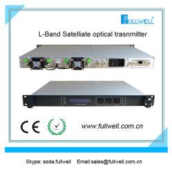 Спутниковой связи в диапазоне частот L оптический передатчик RF через оптоволоконный кабель передатчика